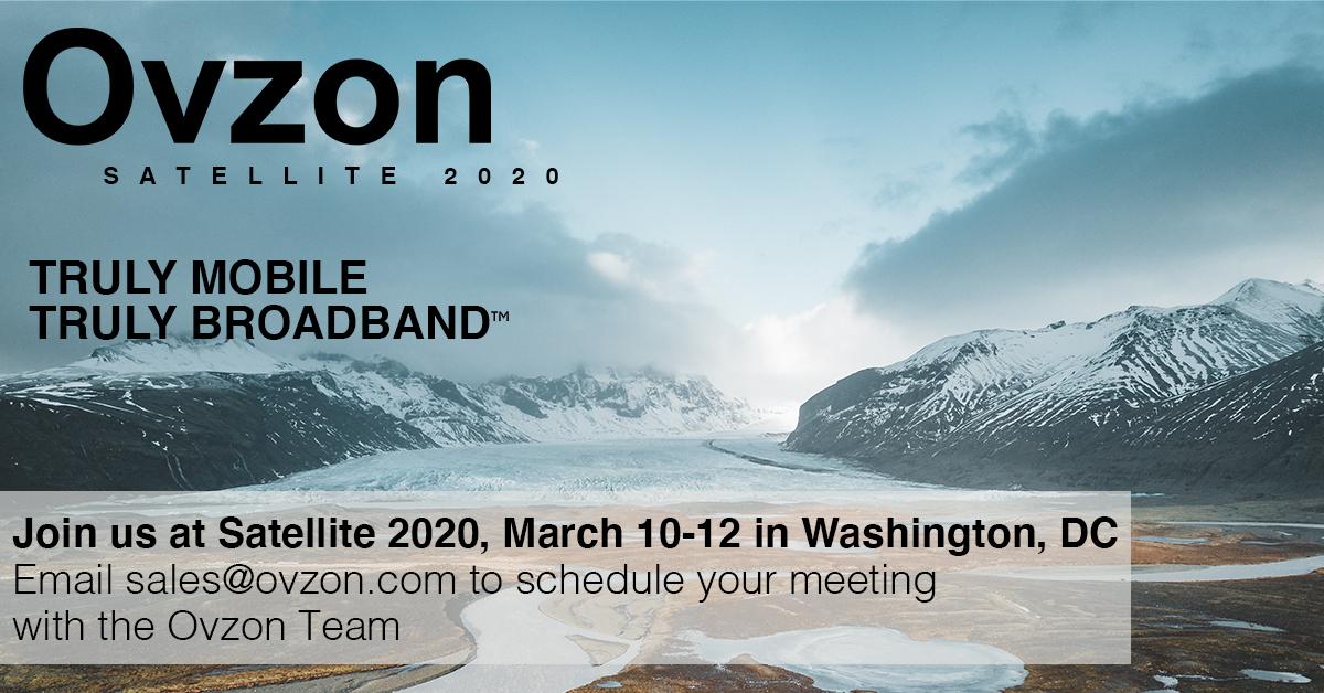 Ovzon Satelite 2020
